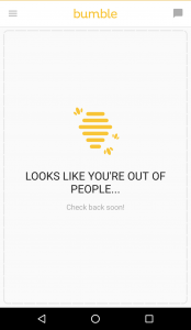bumble dating app out